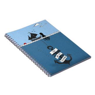 いかりのノート ノートブック