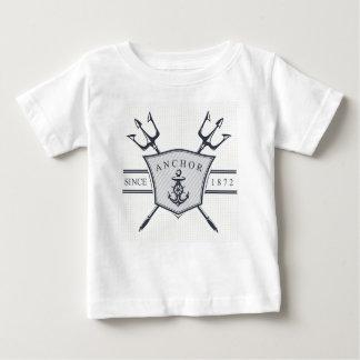 いかりのベビーの罰金のジャージーのTシャツ ベビーTシャツ