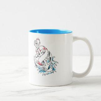 いかりのマグ ツートーンマグカップ