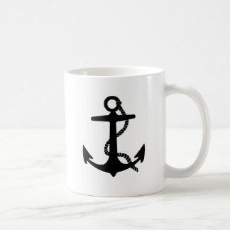 いかりの海の探検家の海賊船の航海 コーヒーマグカップ