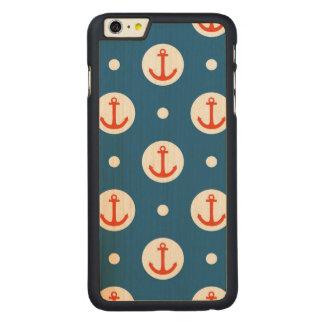 いかりの点 CarvedメープルiPhone 6 PLUS スリムケース