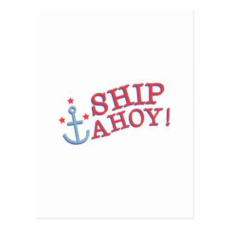 いかりの船Ahoy! ポストカード