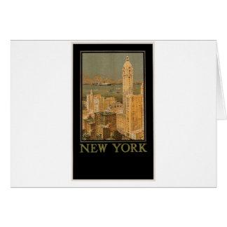 いかりラインによるグラスゴーからのヴィンテージニューヨーク カード