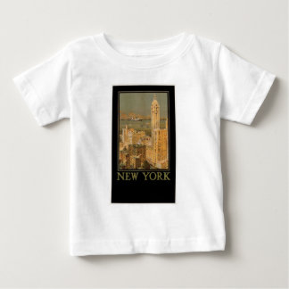 いかりラインによるグラスゴーからのヴィンテージニューヨーク ベビーTシャツ