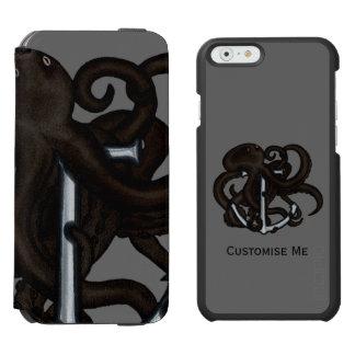 いかり上の黒いタコ INCIPIO WATSON™ iPhone 6 財布ケース