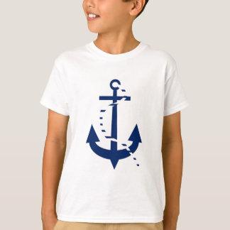 いかり及びライン海軍 Tシャツ