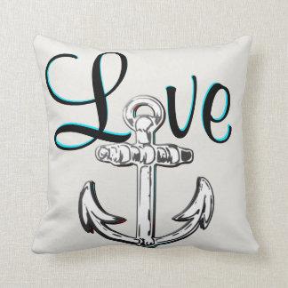 いかり愛航海のなビーチのコテッジの装飾の枕 クッション