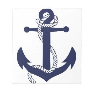 いかり海軍の航海 ノートパッド