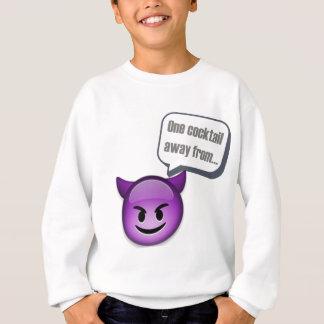 いけないから遠くにな1つのカクテル- Emoji スウェットシャツ