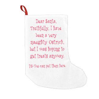 いけないだちょう スモールクリスマスストッキング