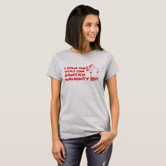 """""""いけないリスト"""" Tシャツ"""