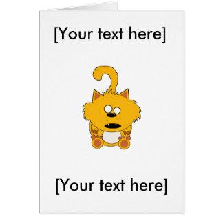いけない子猫の挨拶状をピクルスにして下さい カード