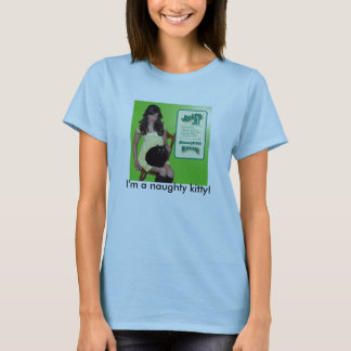 いけない子猫 Tシャツ