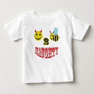 いけない幸せな2蜂 ベビーTシャツ