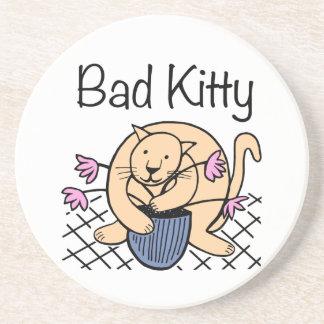 いけない猫の漫画 コースター