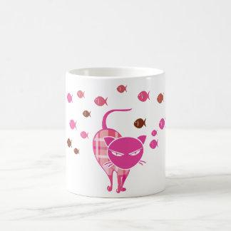 いけない猫 コーヒーマグカップ