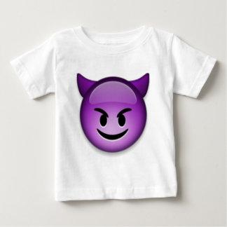 いけないEmojiは直面します ベビーTシャツ