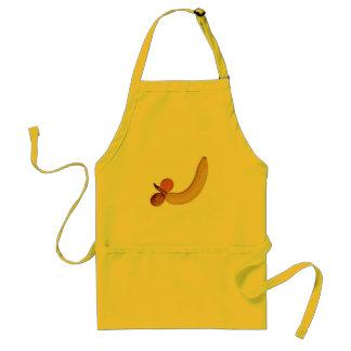 いけなくフルーツのようなバナナ スタンダードエプロン