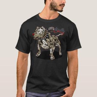 いじめっ子の黒のスタイル Tシャツ