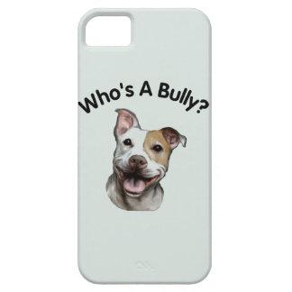 いじめっ子はだれですか。 ピット・ブル愛らしい犬 iPhone SE/5/5s ケース