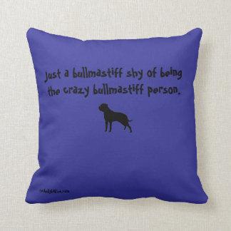 いじめっ子愛Pillow熱狂するなBullmastiffの女性 クッション