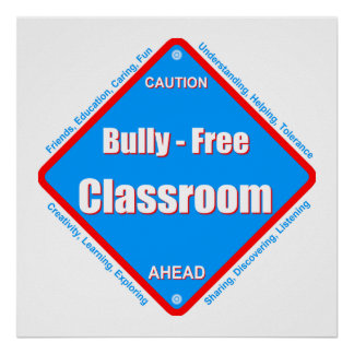 いじめっ子-自由な教室ポスター ポスター