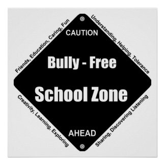 いじめっ子-自由学校制のノート ポスター