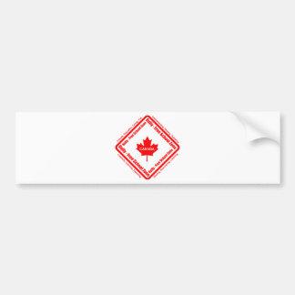 いじめっ子-自由学校制の地帯カナダ バンパーステッカー