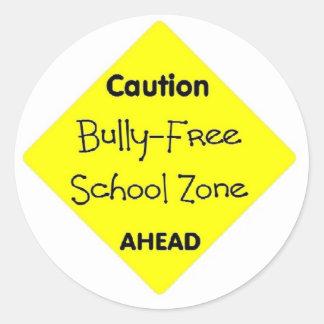 いじめっ子-自由学校制の地帯 ラウンドシール