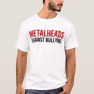いじめることに対するMetalheads Tシャツ
