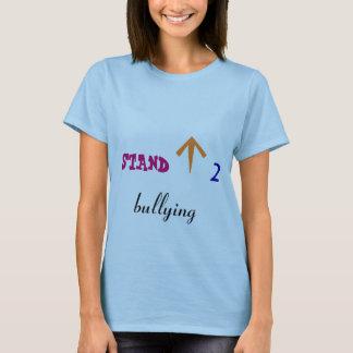 いじめることに立ち向かって下さい Tシャツ
