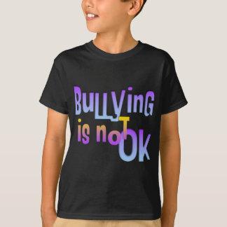 いじめることは良くないです Tシャツ