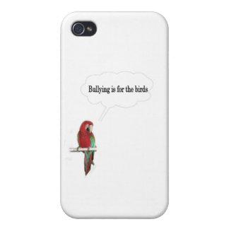 いじめることは鳥のためです iPhone 4/4S CASE
