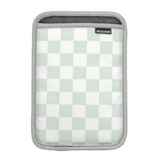 いそぎんちゃくのギンガムパターン iPad ミニ スリーブ