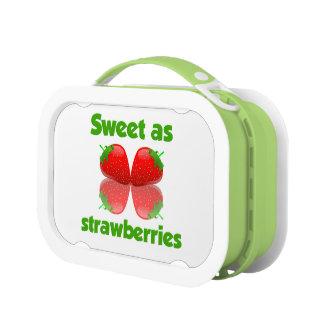 いちごのお弁当箱として菓子 ランチボックス