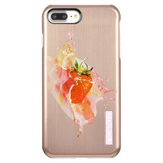 いちごのしぶき! 水彩画 INCIPIO DualPro SHINE iPhone 8 PLUS/7 PLUSケース
