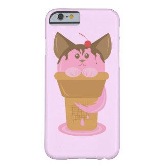 いちごのアイスクリーム猫 BARELY THERE iPhone 6 ケース