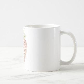 いちごのタイポグラフィ コーヒーマグカップ