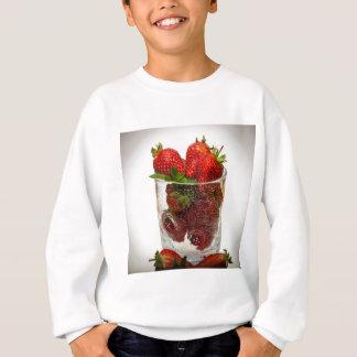 いちごのデザート スウェットシャツ