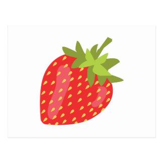 いちごのフルーツ ポストカード