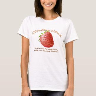 いちごのブロンドの女性 Tシャツ