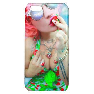 いちごの女の子vol.3の例 iPhone 5C case