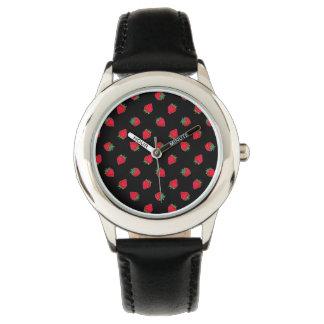 いちごの子供のステンレス鋼 腕時計