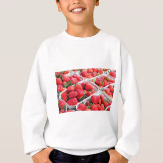 いちごの市場 スウェットシャツ
