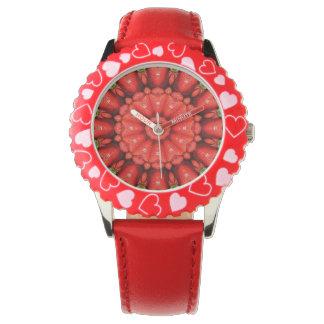 いちごの曼荼羅 腕時計