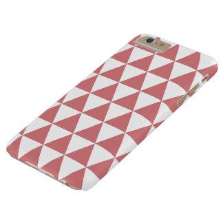 いちごの氷の三角形パターンiPhone 6のプラスの場合 Barely There iPhone 6 Plus ケース