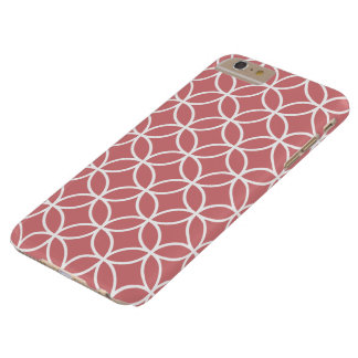 いちごの氷の幾何学的なiPhone 6のプラスの場合 Barely There iPhone 6 Plus ケース