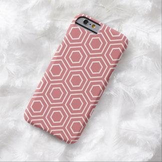 いちごの氷幾何学的なパターンiPhone6ケース Barely There iPhone 6 ケース