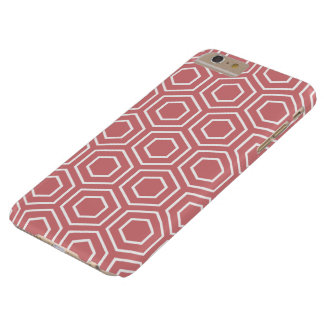 いちごの氷幾何学的なパターンiPhone 6プラスCas Barely There iPhone 6 Plus ケース