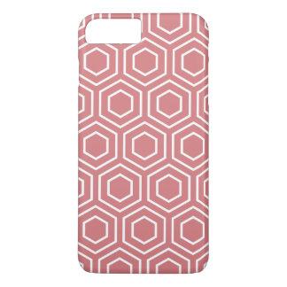 いちごの氷幾何学的なパターンiPhone 7プラスCas iPhone 8 Plus/7 Plusケース